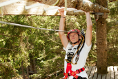 High Ropes Course Issinger Weiher