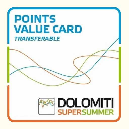 Dolomiti SuperSummer-MultiValueCard